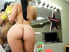 Kimmy Kush in Ample Latina Maid Luvs First Day - BangBros