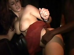 Isabella Soprano fucking a dark guy at party 3