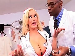 Nurse gets it in the ass
