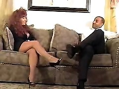 Redhead mommy gets porked by dark-hued Waneta from 1fuckdatecom