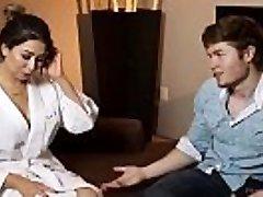 Step-cousin massage and poke - Melissa Moore, Jake Jace