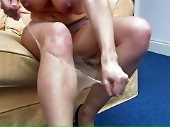 RIPPING CLOTHES ENORMOUS TITS