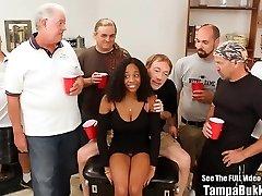 Beautiful Hefty Tit Teen Banged by Mass Ejaculation Geysers