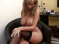 Brilliant Wife Zuzana nice Girl Nylon boobs leg dream knockers