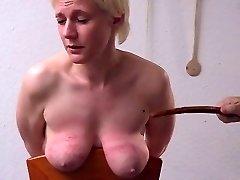 rigorous smacking tits