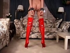 Restrain Bondage discipline lesson with a torrid blonde