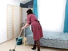 dude poke hairy mature maid