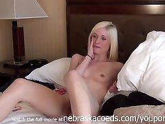 Extremely Hot Platinum Blonde Super-bitch