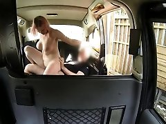Rosy hair unexperienced fucked to off her fare