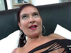 Ample titted Amateur french mom analized and dual penetrated