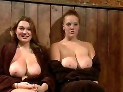 Big Titted Red-haired And Buddy Publicly Punished