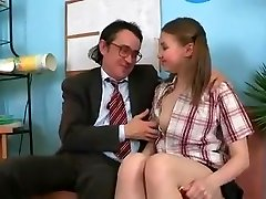 SB3 Cute Beauty Gets Screwed By The Headmaster !