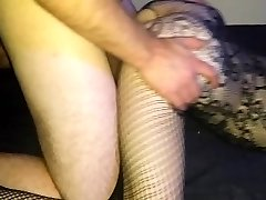 LadyShatter gets internal ejaculation from friend, hubby gobbles it