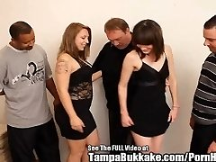 Teenager School Sluts Bukkake Group Screw Party!