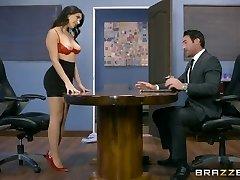 Brazzers - ולנטינה Nappi מקבל הארדקור המשרד מזוין