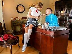 Skye West in Schoolgirl Bodies #05, Sequence #01 - SweetSinner