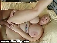 BBW Pornstar Samantha 38G Pounds A Fan