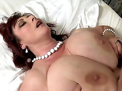 Big titted milf with big saggys pounded hard