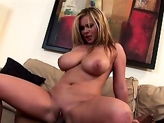 Immense load of cock makes her happy