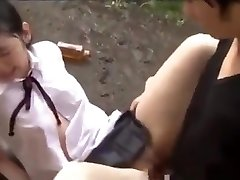 Small Japanese Teens In Schoolgirl Uniform Abused &amp_ Fucked Hard