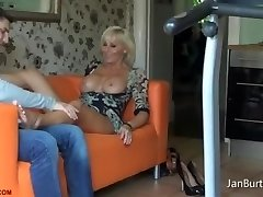P13 - Feet Massage after shopping Excursion from Step Son with no Underwear
