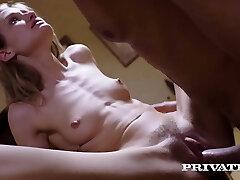 Private.com - Skinny Tiffany Tatum Fucks Hard Gym Teacher!