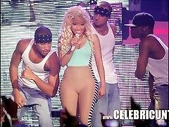 הובנה הסלב ניקי Minaj חשוף עסיסי ציצים ו גמירות Selfie
