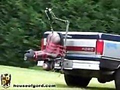 אוטומטי משאית זין מכונה - יותר קטעי וידאו WWW.FETISHRAW.COM