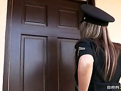 Brazzers - Large-tit cop Courtney Cummz is drilled & punished