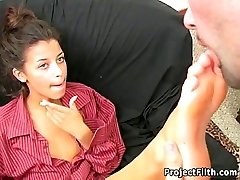 Taut Teen Is A Foot Domina