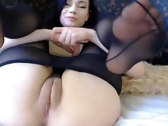 Brunette saggy tits bobs torrid backside cubby tight cameltoe pussy