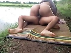 Cheating desi wife tears up her husband's friend at farm ...