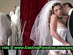 Kayla Paige mind-blowing big-titted bride