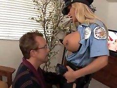 Drilling that buxomy cop Shyla Stylez