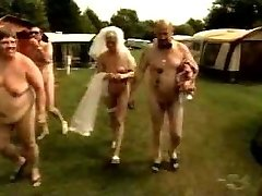 breast amputee bride in nudism camp 2