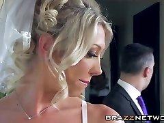 Sexy bride enjoys in wild anal invasion ravaging
