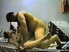 Vintage arab inexperienced couple make hard homemade anal