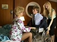 Sharon Mitchell, Jay Pierce, Marco in vintage romp scene
