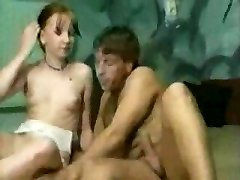 Alde. Youthfull uninhibited Pigtails teen girl really enjoy sexual sensations