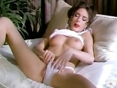 Rebecca Lord wank on bed