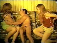 Fabuleux film Maison de avec le Vintage, le Trio scènes
