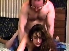 Real vintage babe nailed by oldman