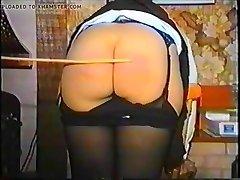 Classic Spanking Schoolgirl Caned