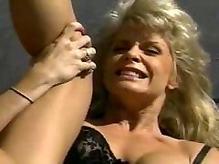 light-haired bimbo getting her ass lick and tear up
