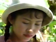 Vintage Asian outdoor photoshoot