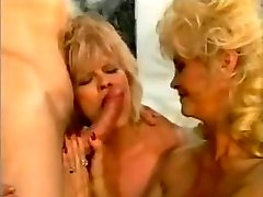 Old School Euro Busty Cougars Threeway
