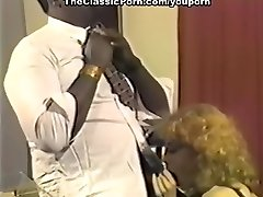 Black boss fucking sandy-haired whore