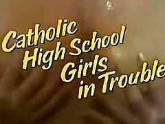 High School Femmes in Trouble