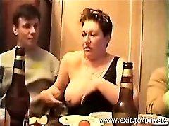 Nutting in mouth Busty Swinger Sonja