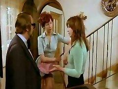 Nasty housewife gives head to her kinky neighbor